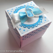 Krabička na darování peněz pro chlapečka