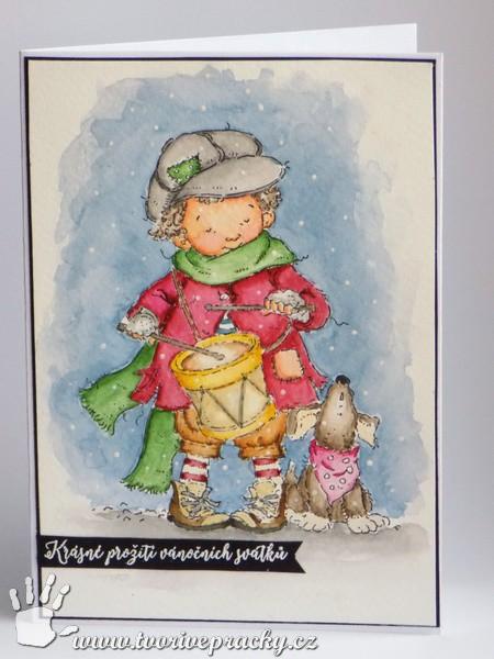 Vánoční přání s malým bubeníčkem