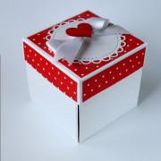 Narozeninová krabička k darování peněz pro holčičku
