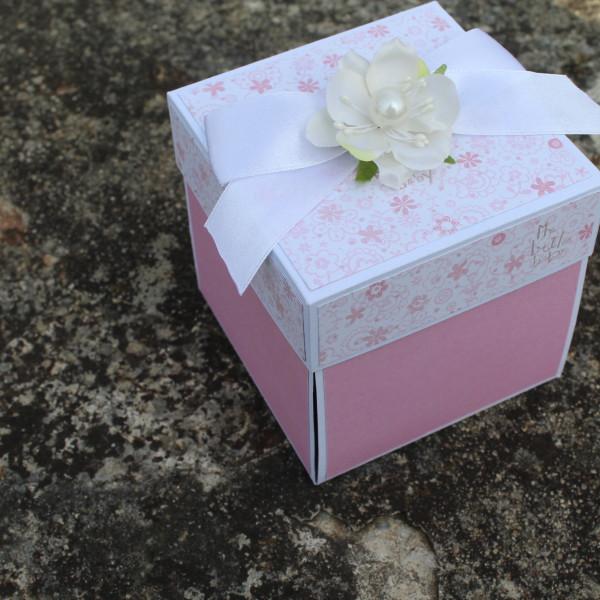 Krabička k narození holčičky