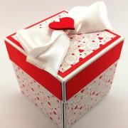 Svatební krabička na darování peněz