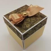 Luxusní krabička na darování peněz