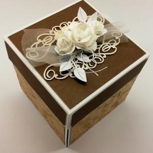 svatební krabička na darování peněz novomanželům