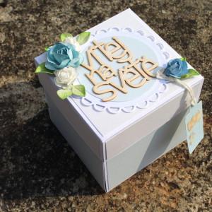 Krabička k narození chlapečka