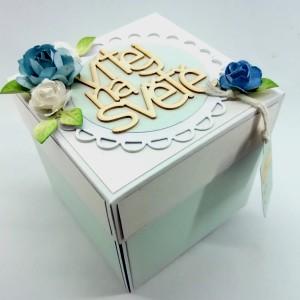 Dárková krabička k narození miminka
