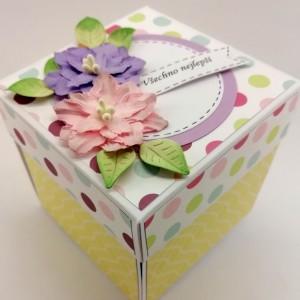 Krabička na darování peněz k narozeninám pro ženu se smyslem pro humor