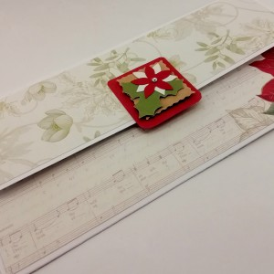 Vánoční obálka na darování peněz nebo voucheru