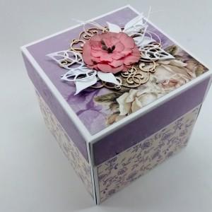 Exploding box na darování peněz ke svatbě