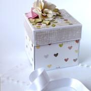 Krabička na darování peněz novomanželům