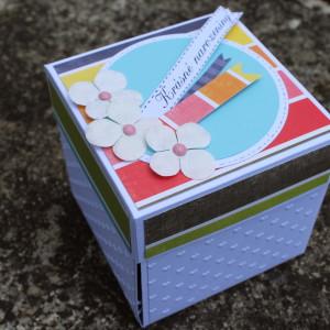 Narozeninová krabička pro ženu na darování peněz