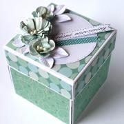 Narozeninová krabička pro ženu k darování peněz