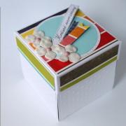 Narozeninová krabička pro darování peněz