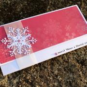 Vánoční obálka na peníze