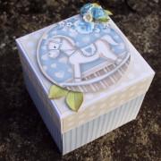 Krabička k narození miminka na darování peněz