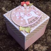 Krabička na peníze k narození holčičky