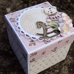 Krabička na peníze k narození miminka