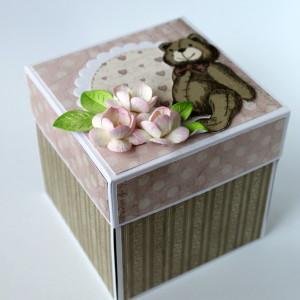 Krabička na darování peněz k narození miminka