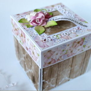 Krabička pro darování peněz ke svatbě