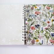 Květinové album na fotografie